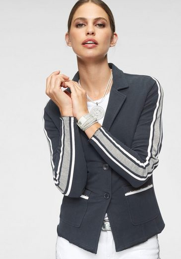 Monari Kurzjacke im Blazer-Style