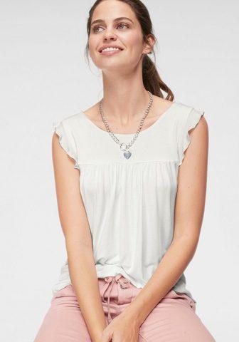 LAURA SCOTT Блуза с круглым вырезом