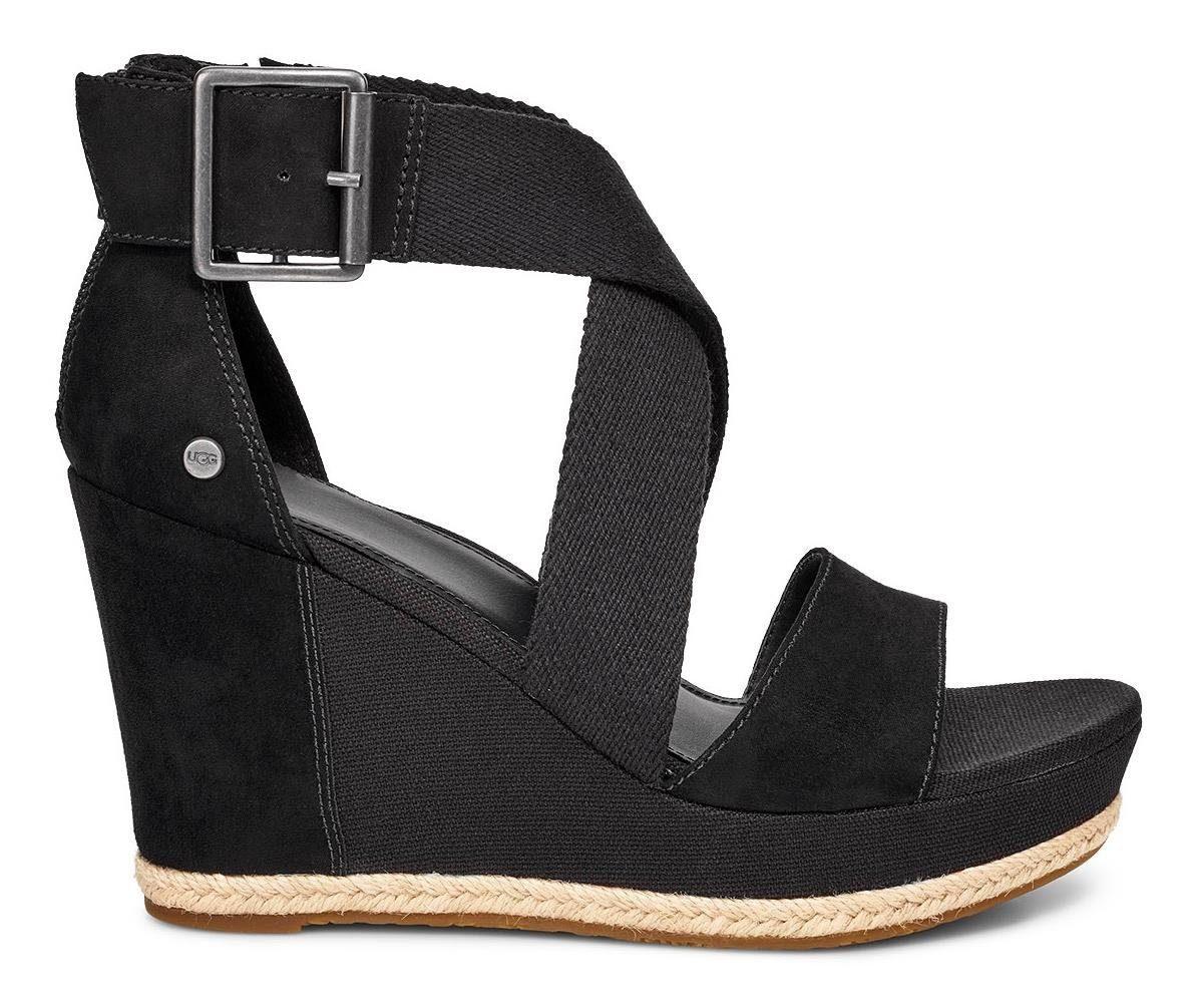 UGG »Calla« Sandalette mit dezenten Jute-Rahmen