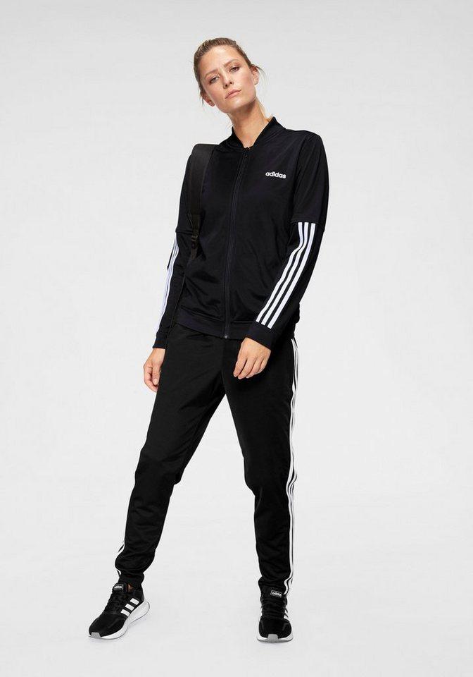 adidas Trainingsanzug   Sportbekleidung > Sportanzüge > Trainingsanzüge   Schwarz   adidas