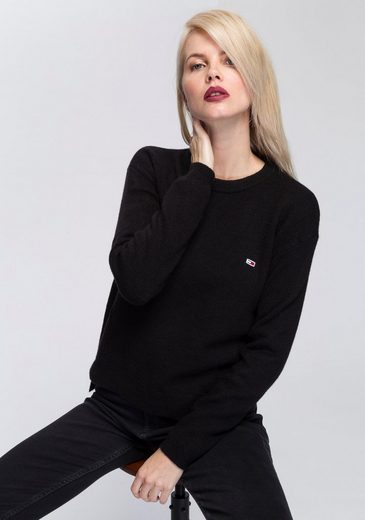 Tommy Jeans Pullover »TJW SIDE STITCH DETAIL SWEATER«