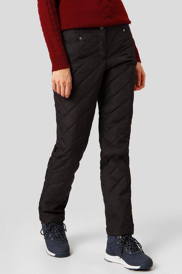 Finn Flare Outdoorhose mit modischer Steppung   Bekleidung > Hosen > Outdoorhosen   Schwarz   Polyester   Finn Flare