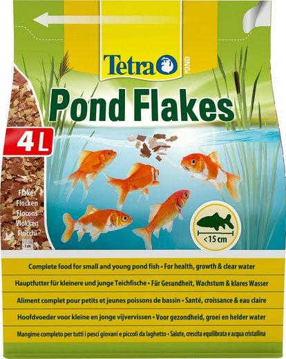 Tetra Fischfutter »Pond Flakes«, Flockenfutter 4 Liter