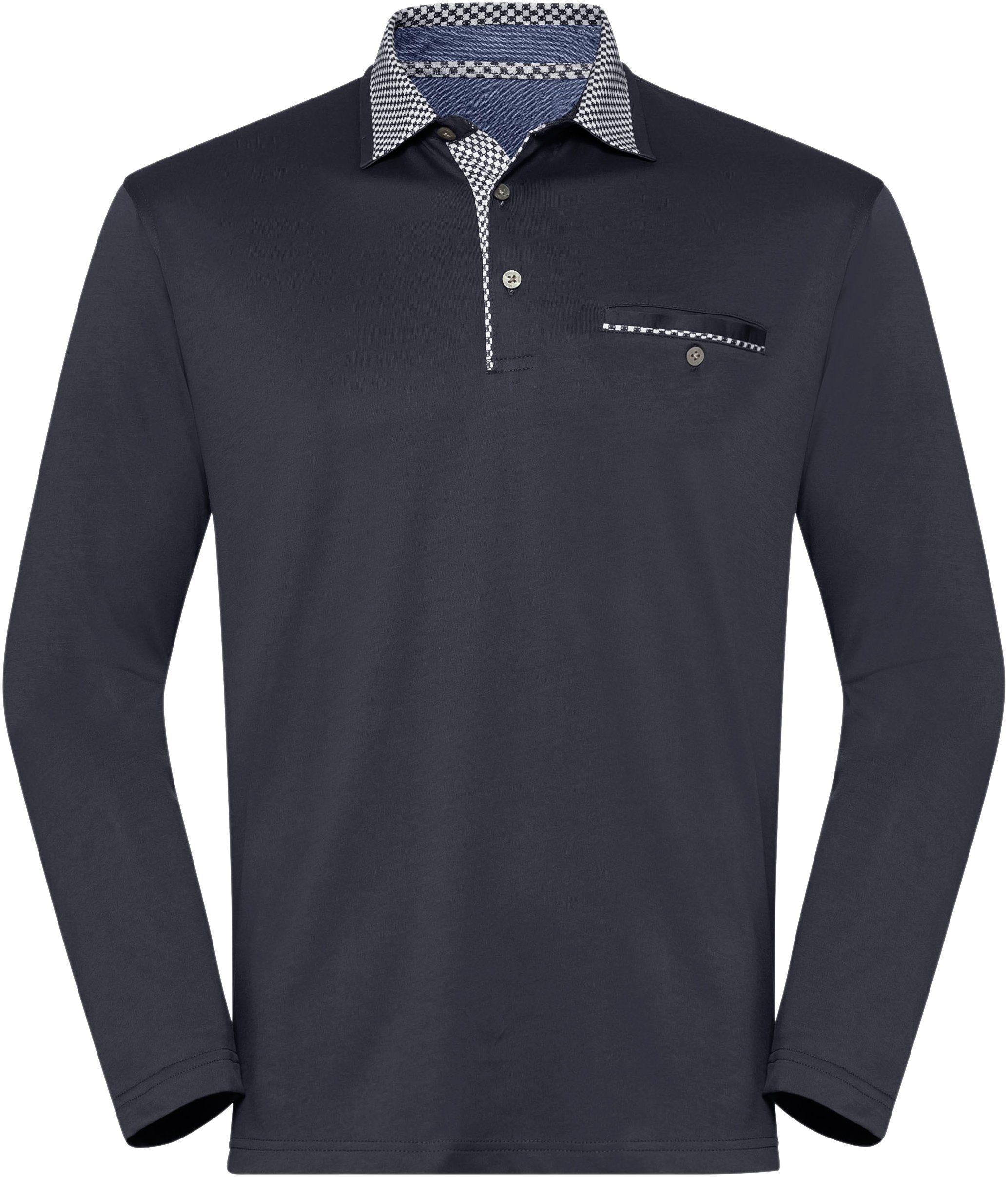 Hajo Langarm-Shirt in stay fresh-Qualität