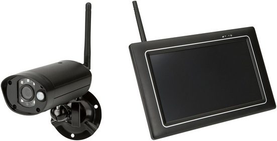 Überwachungskamera »CWL401S«, mit Monitor und Touchscreen, auch für Smartphone oder Tablet