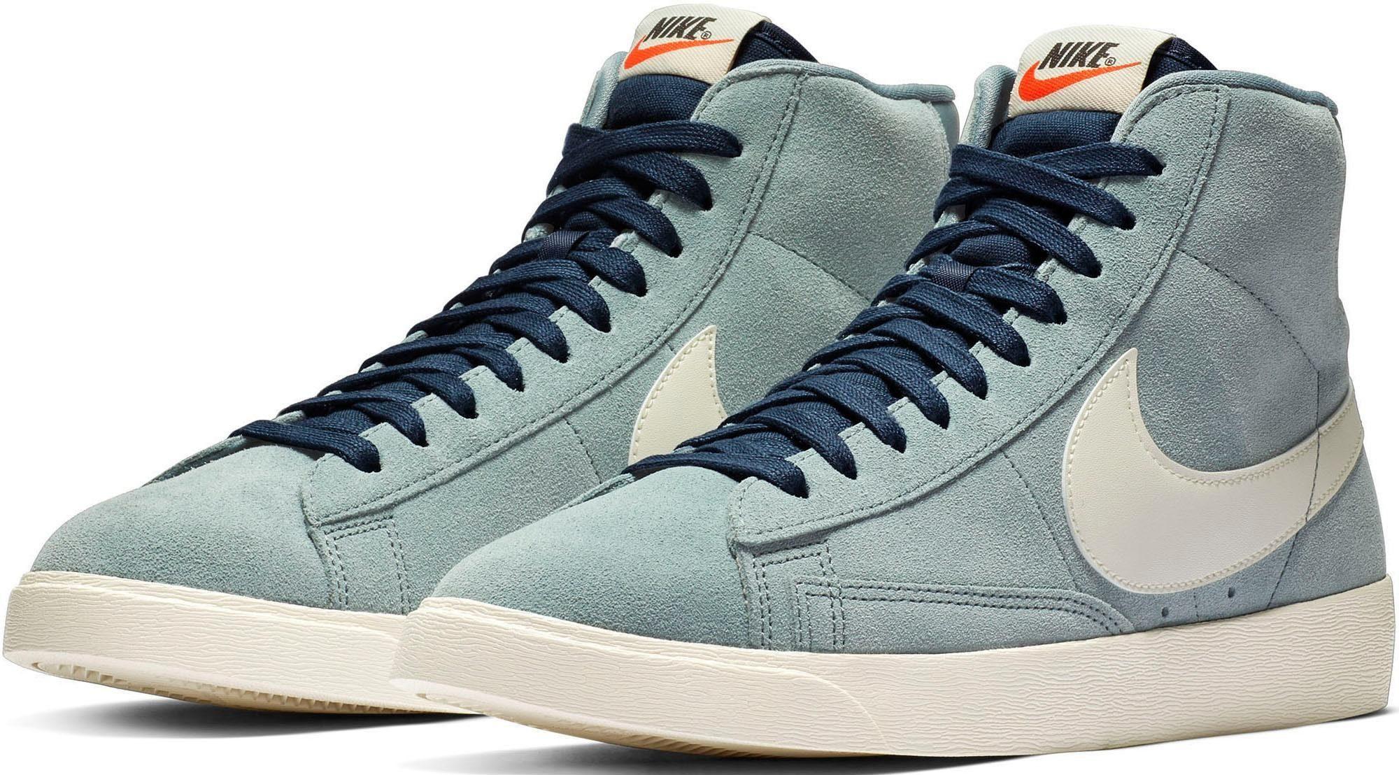 online Nike BLAZER MID SUEDE VINTAGE Damen Schwarz shop