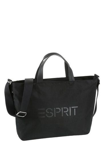 Mit print Auffälligem Esprit Henkeltasche Logo 5vwqCUxwI