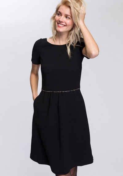 Esprit Collection Abendkleid mit Glitzersteinen auf Taillenhöhe 1614144fd9
