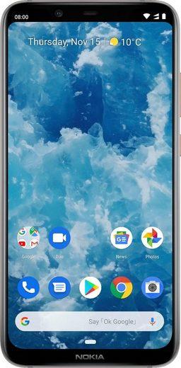 Nokia 8.1 Dual-SIM Smartphone (15,7 cm/6,18 Zoll, 64 GB Speicherplatz, 12 MP Kamera)