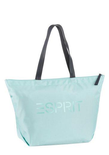 Esprit Mit Shopper Logo Großem druck xBgqTx