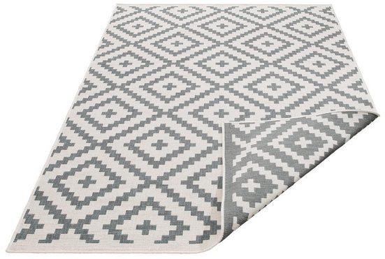 Teppich »Ronda«, my home, rechteckig, Höhe 5 mm, Sisal-Optik, Wendeteppich, In- und Outdoor geeignet, Wohnzimmer