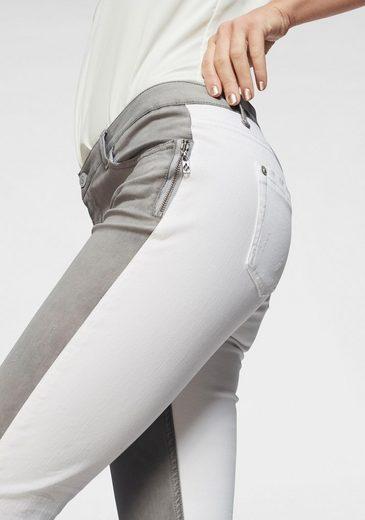 »chloe« Angesagter tone fit Blue Skinny In 2 jeans Fire optik xY78Iq