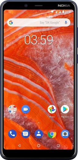 Nokia 3.1 Plus Dual-SIM Smartphone (15,24 cm/6 Zoll, 16 GB Speicherplatz, 13 MP Kamera)