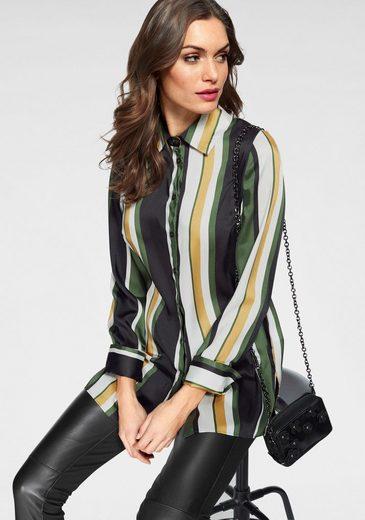 GUIDO MARIA KRETSCHMER Hemdbluse im modischen Streifen-Design