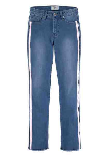 GUIDO MARIA KRETSCHMER 7/8-Jeans mit seitlichen Kontraststreifen