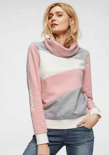 KangaROOS Sweatshirt im modischem Colorblocking-Design