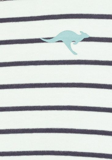 Im Kangaroos Sweatkleid Im Kangaroos Sweatkleid Streifenmuster Maritimen xaEnRI7qUw