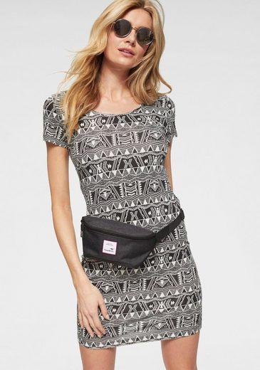 KangaROOS Jerseykleid im Ethno-Ikat-Print
