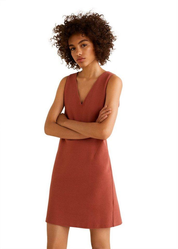 MANGO Strukturiertes Baumwollkleid online kaufen   OTTO bfb1eb131a