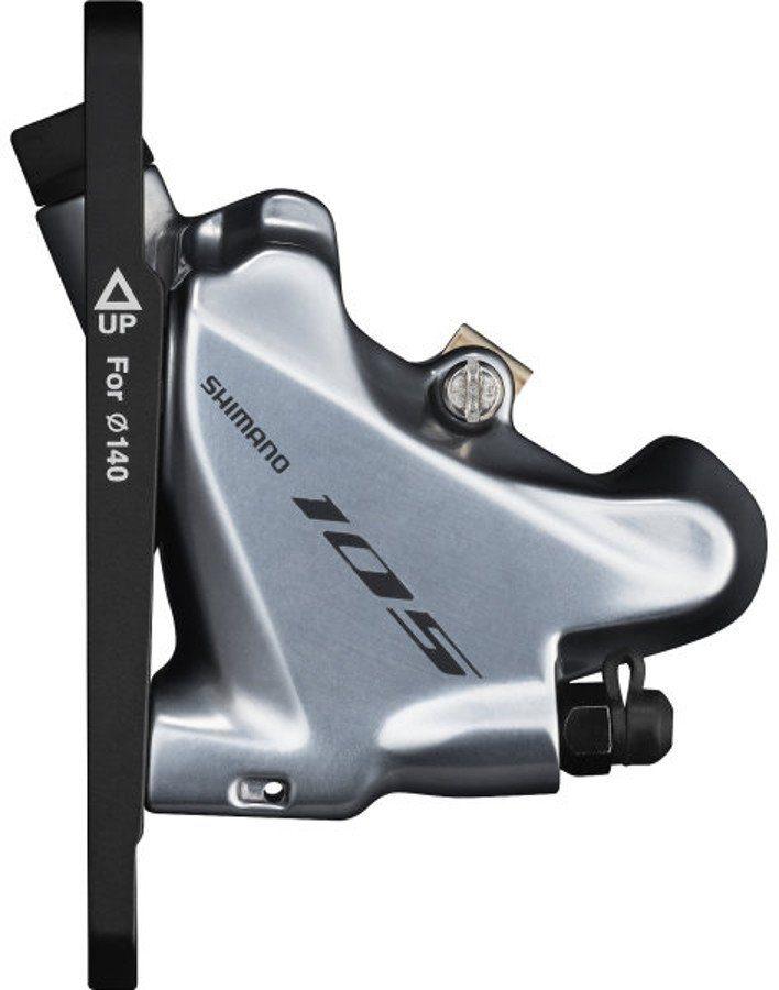 Shimano Scheibenbremsen Zubehör »105 BR-R7070 Bremssattel Flat-Mount Vorderrad«
