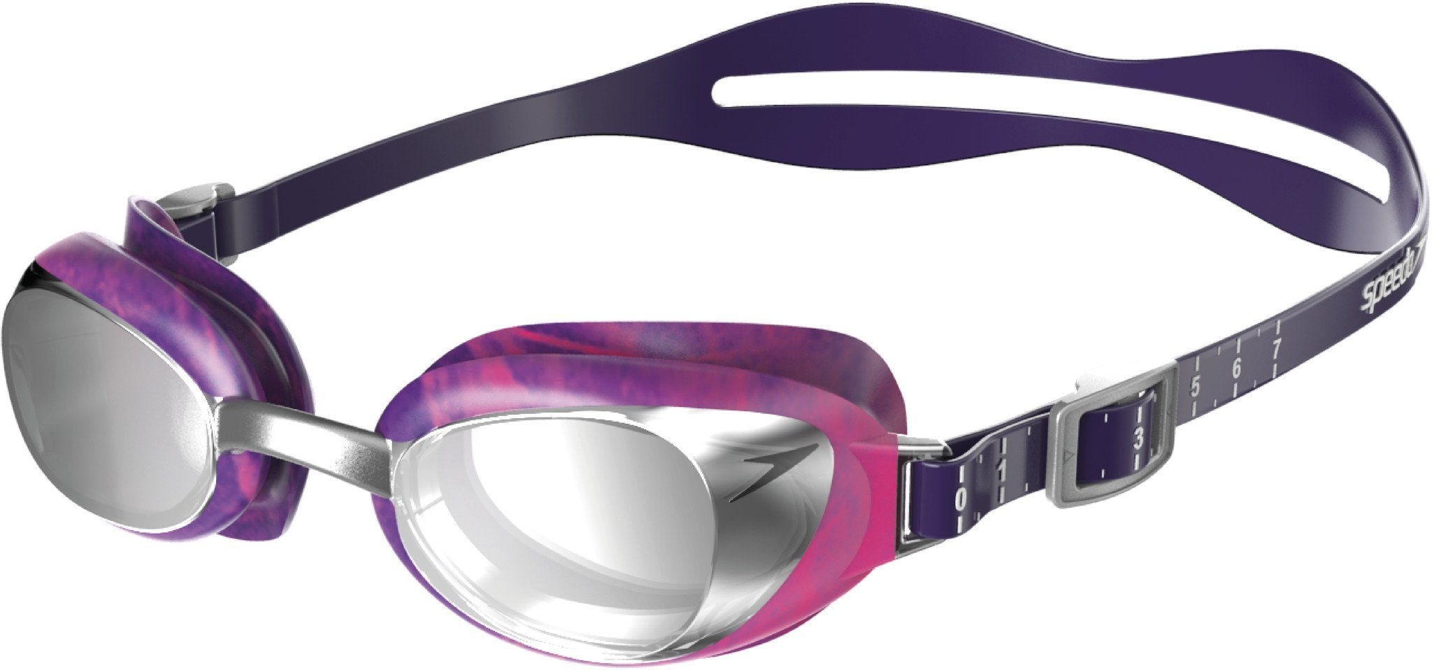 Speedo Schwimmsportzubehör »Aquapure Max Mirror V2 Goggles Women«
