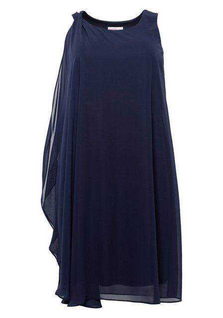 Sheego Partykleid in figurumspielender Form | Bekleidung > Kleider > Partykleider | Sheego