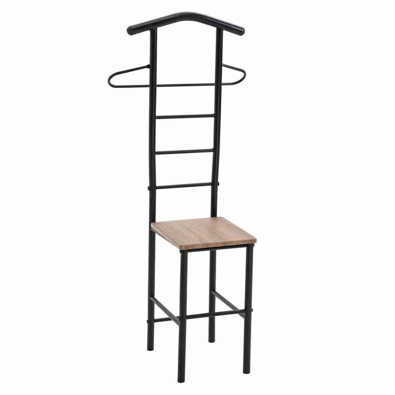 CARO-Möbel Herrendiener »JIVO«, Herrendiener Kleider Ständer Stummer Diener Kleiderbutler Garderobe Stuhl