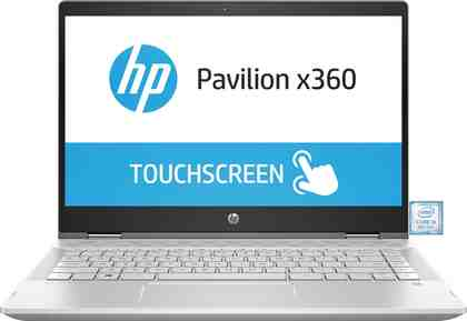 "HP Pavilion x360 14-cd1004ng Convertible »35,6 cm (14"") Intel Core i5, 128 GB + 1 TB, 8 GB«"