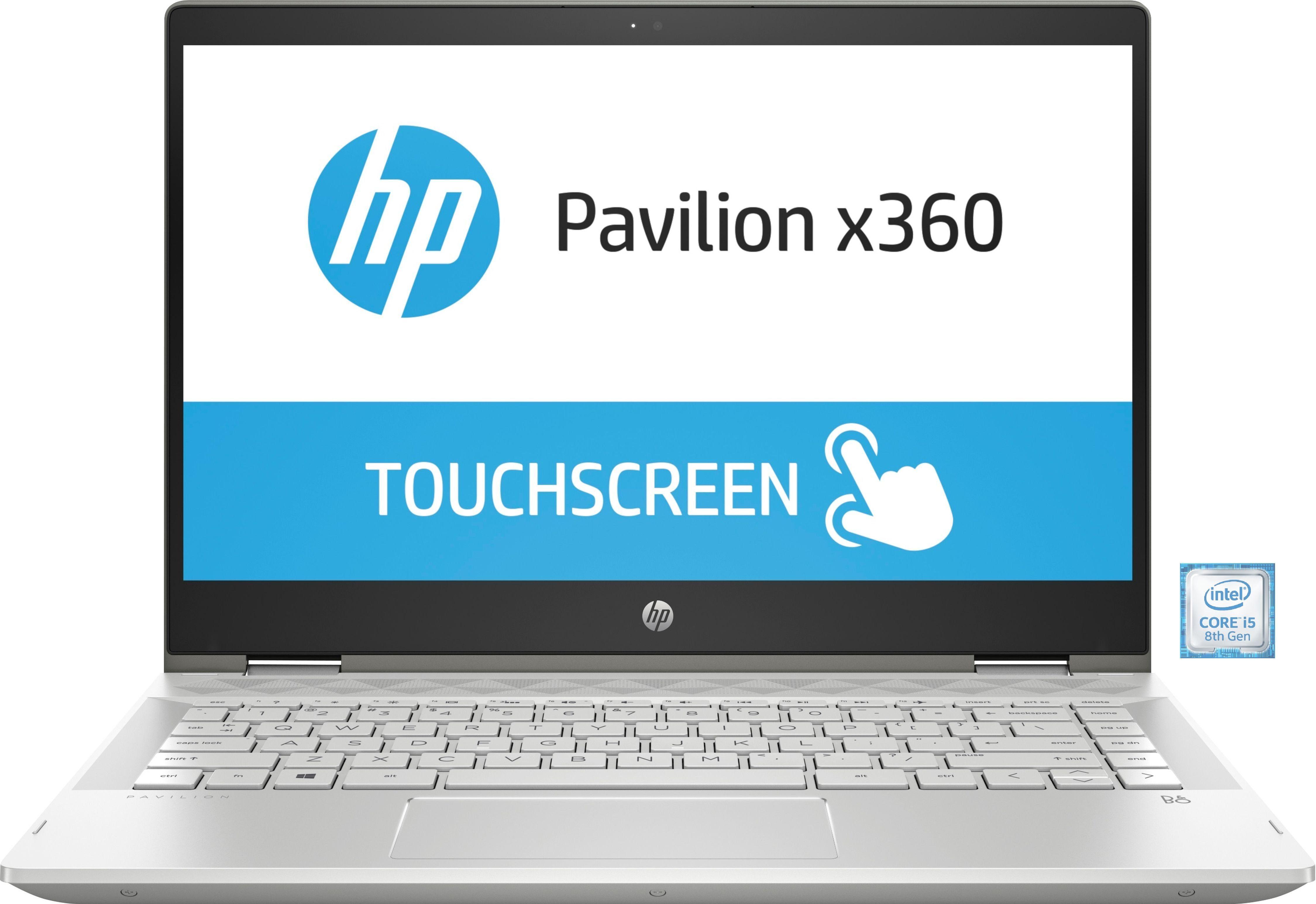 "HP Pavilion x360 14-cd1006ngConvertible »35,6 cm (14"") Intel Core i5, 512 GB, 8 GB«"