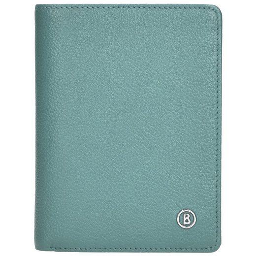 Bogner Smart Tri Fold Geldbörse Leder 12 cm