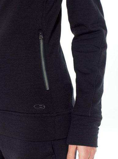 »dia Outdoorjacke Schwarz Icebreaker Ls Jacket Women« Zip kXN8wPn0O