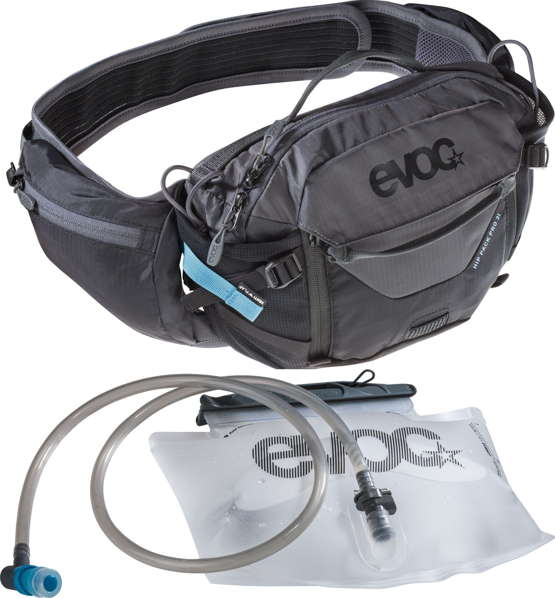 EVOC Rucksack »Hip Pack Pro 3l + Bladder 1,5l«