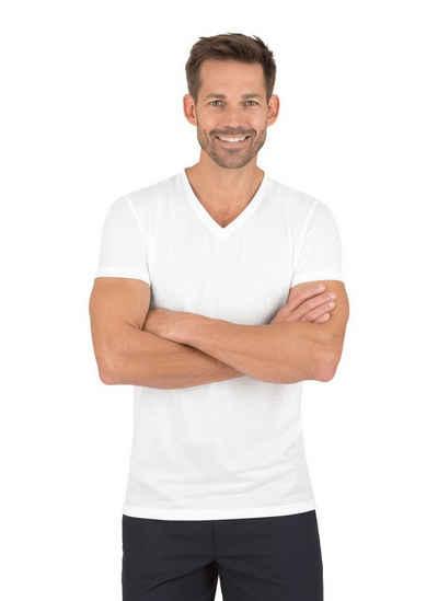 Trigema V-Shirt aus 100% Lyocell