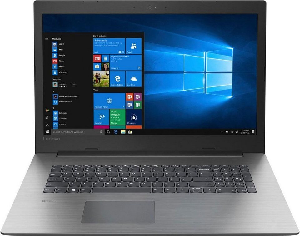 lenovo ideapad 330 17ast notebook 43 9 cm 17 3 zoll amd. Black Bedroom Furniture Sets. Home Design Ideas