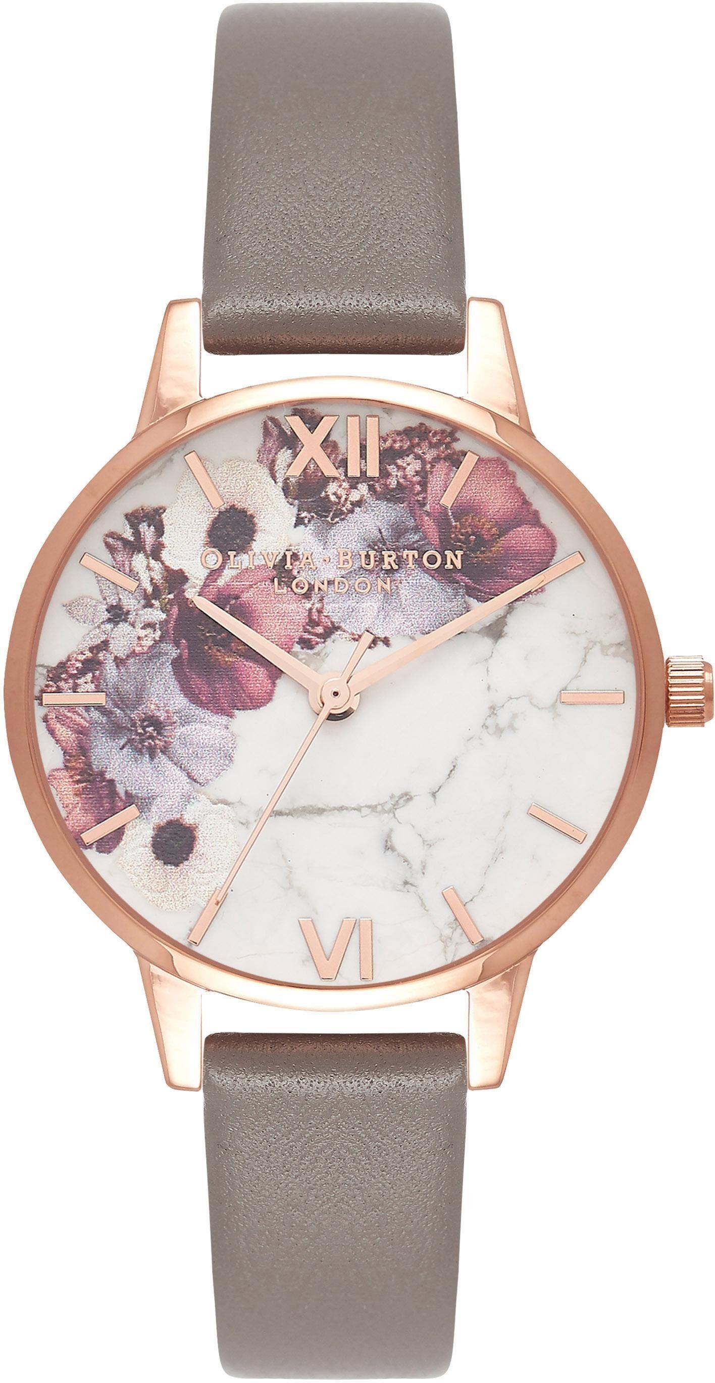 OLIVIA BURTON Quarzuhr »Marble Florals, OB16MF08«