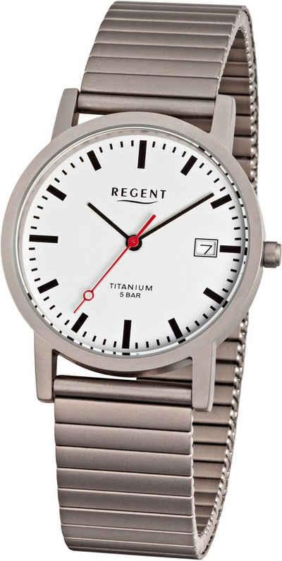 Regent Quarzuhr »1239.90.90«, mit Zugband