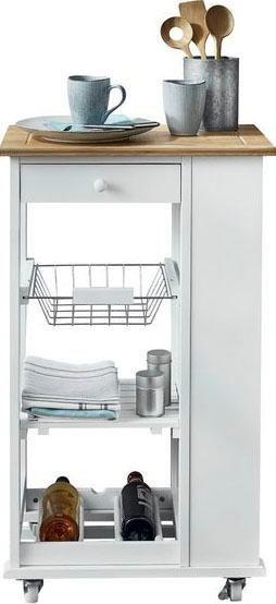 andas Küchenwagen »Nizza«, Material: MDF lackiert, Bambus, Metall online  kaufen | OTTO
