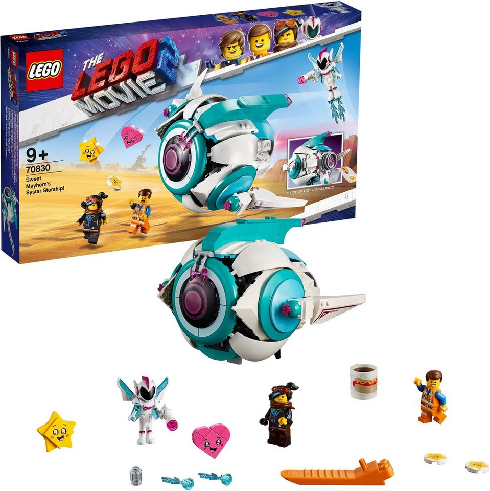Image of LEGO 70830 Lego Movie 2: Sweet Mischmaschs Systar Raumschiff