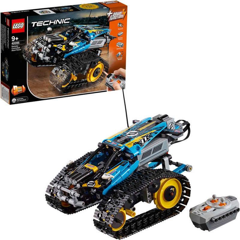 LEGO® Konstruktionsspielsteine »Ferngesteuerter Stunt-Racer (42095), LEGO® Technic«, (324 St)