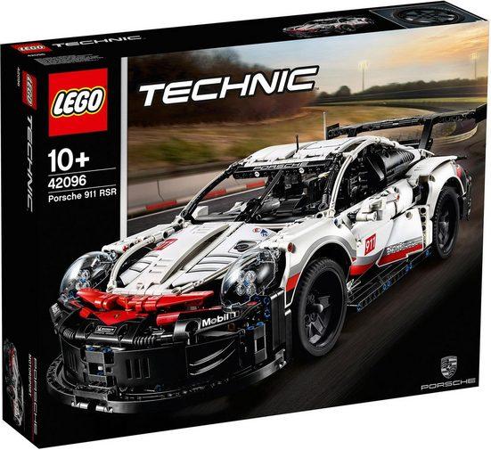 LEGO® Konstruktionsspielsteine »Porsche 911 RSR (42096), LEGO® Technic«, Kunststoff, (1580 St)