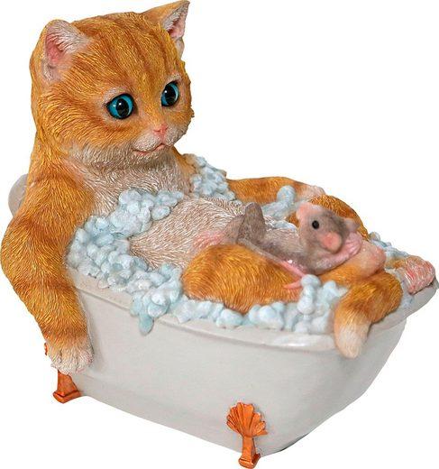 Katze Pinkelt In Badewanne