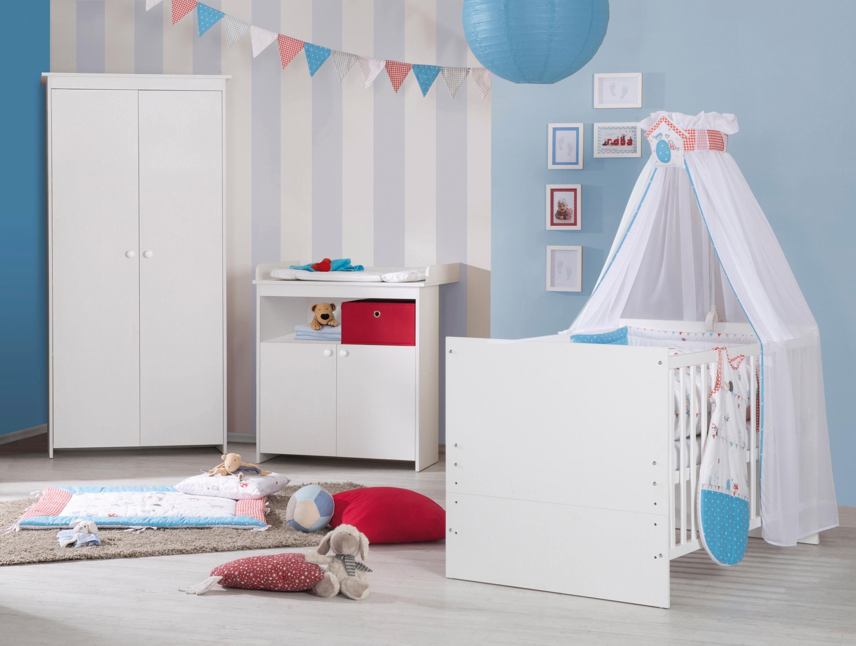 Roba Babyzimmer Set (3-tlg.), Kinderzimmer, »Emilia«