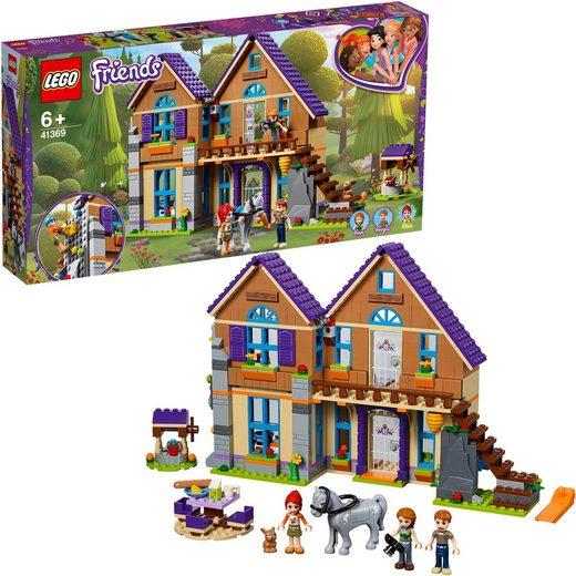 LEGO® Konstruktionsspielsteine »Mias Haus mit Pferd (41369), LEGO® Friends«, (715 St)