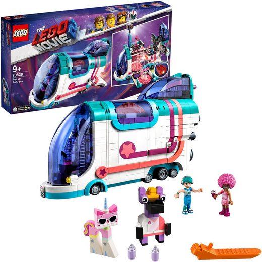 LEGO® Konstruktionsspielsteine »Pop-Up-Party-Bus (70828), THE LEGO® MOVIE 2™«, (1024 St)