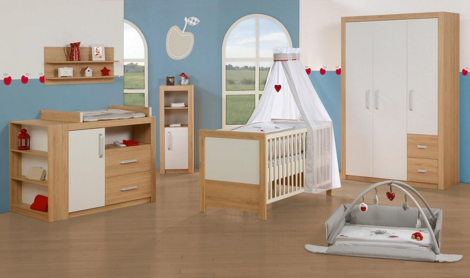 roba babyzimmer set 3 tlg kinderzimmer louisa. Black Bedroom Furniture Sets. Home Design Ideas