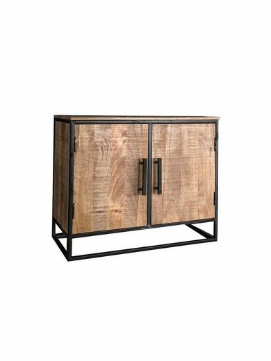KAWOLA Kommode mit zwei Türen aus Massivholz »INDI«