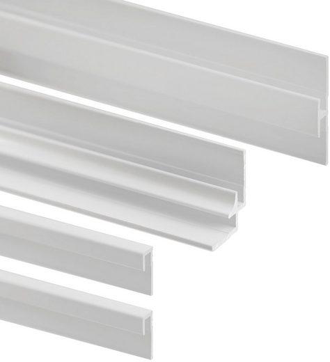 SCHULTE Set: Eckprofil »DecoDesign«, für Duschrückwand, 210 cm