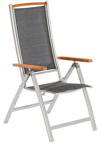 MERXX Poilsio kėdė »Siena« Alu/Textil/Akazie...