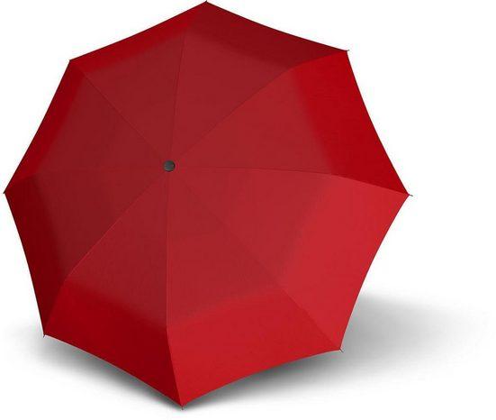 doppler® Taschenregenschirm »Magic, Uni Red«