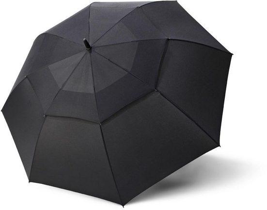 doppler® Partnerschirm »Fiber Golf Automatic Air, black«